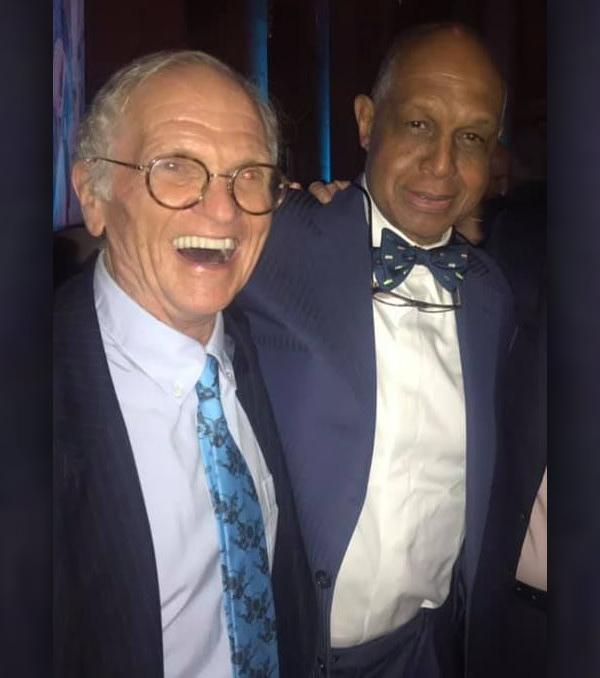 Melvin Ming & Christopher Cerf Bermuda Aug 2019