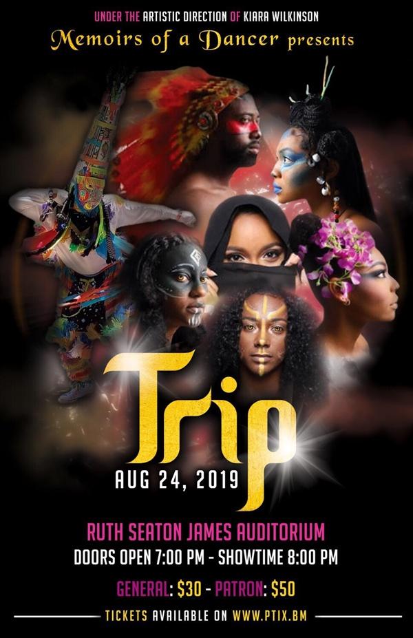 Memoirs of a Dancer Trip Bermuda August 2019