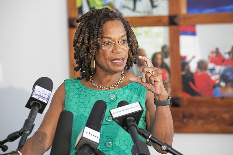 Minister Kim Wilson Bermuda August 8 2019