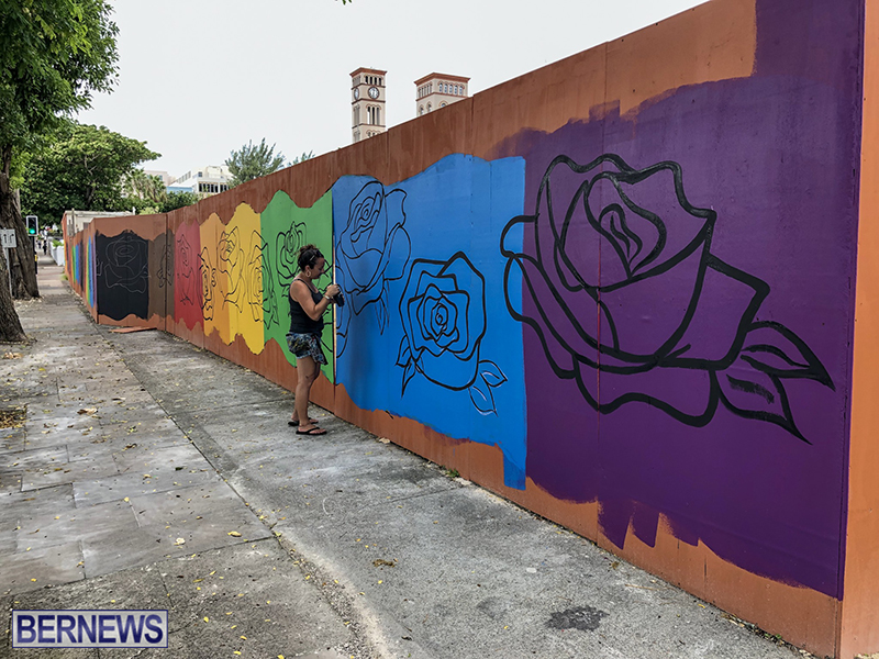 Rainbow Mural Bermuda Aug 22 2019 (10)