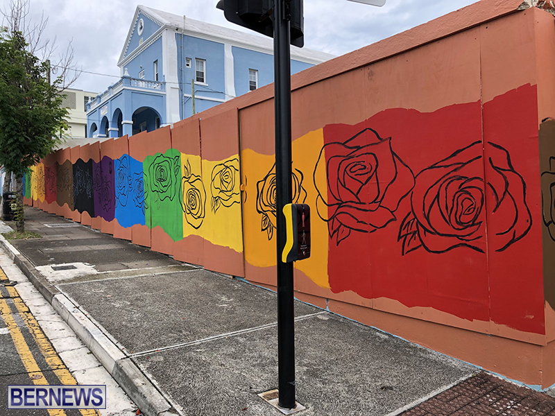 Rainbow Mural Bermuda Aug 22 2019 (2)