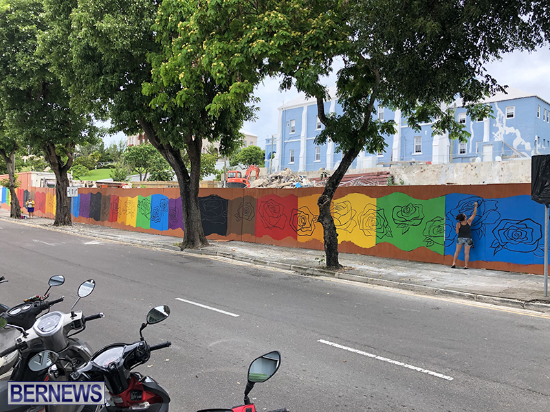 Rainbow Mural Bermuda Aug 22 2019 (5)