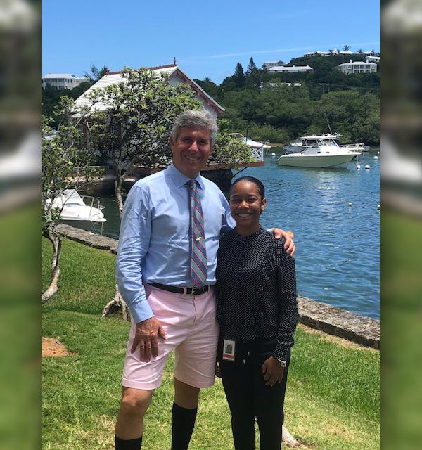 Ronnie Klein &  Zya Fraser Bermuda Aug 2019
