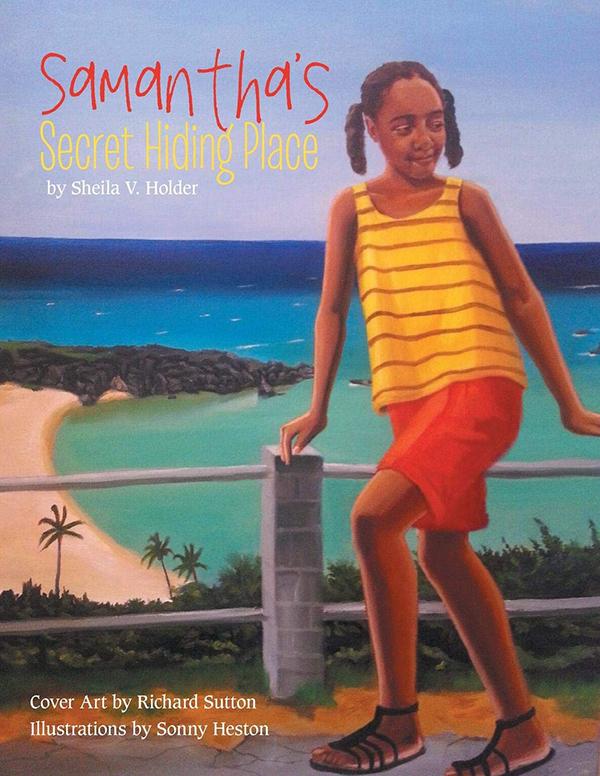 Samantha's Secret Hiding Place Book Bermuda Aug 2019