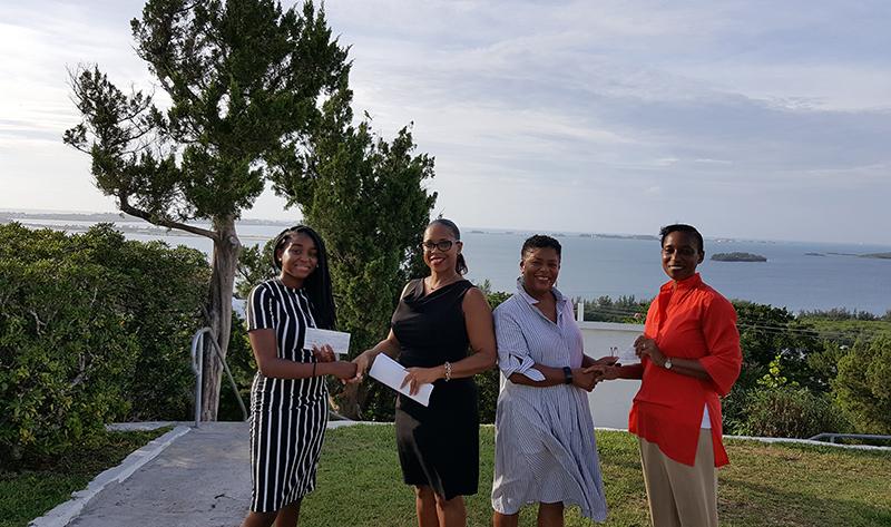 Southampton Parish Scholarship Recipients Bermuda Aug 2019