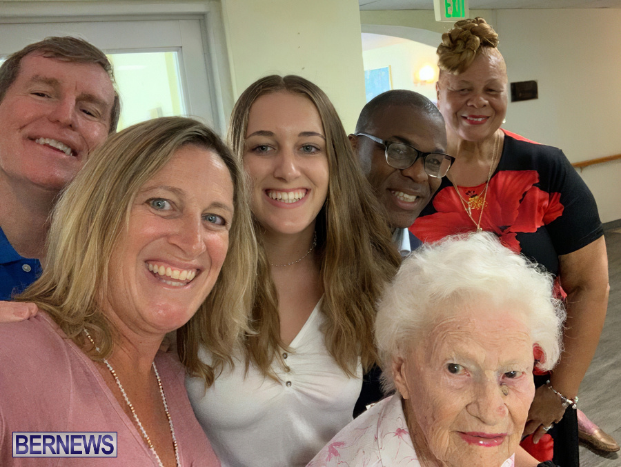 Winnie Childs Celebrates 106th Birthday Bermuda, August 10 2019 (3)