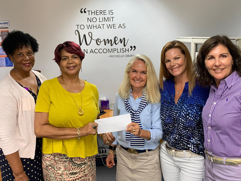 You Go Girls Committee and Women's Resource Centre Bermuda Aug 2019