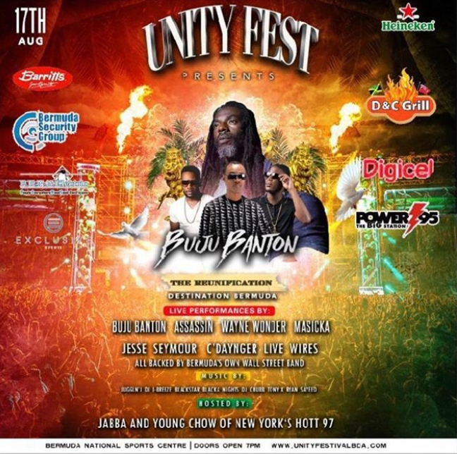 unity poster concert