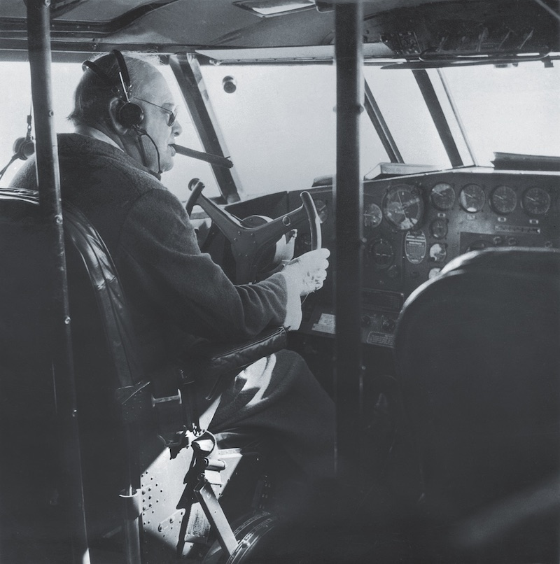 Churchill At The Controls