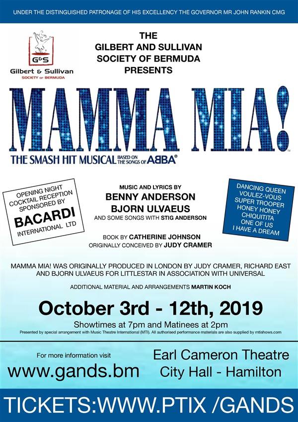 Abba Musical Bermuda Sept 2019