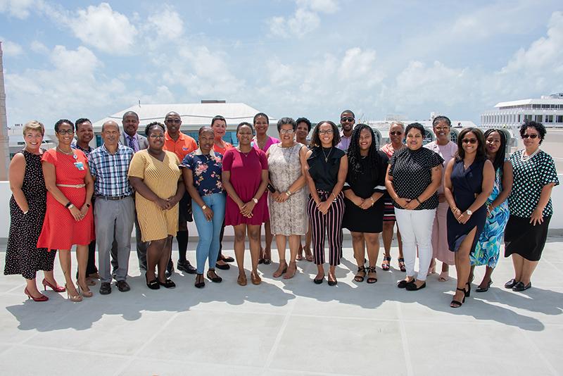 BHB Scholarship Winners Bermuda Sept 2019