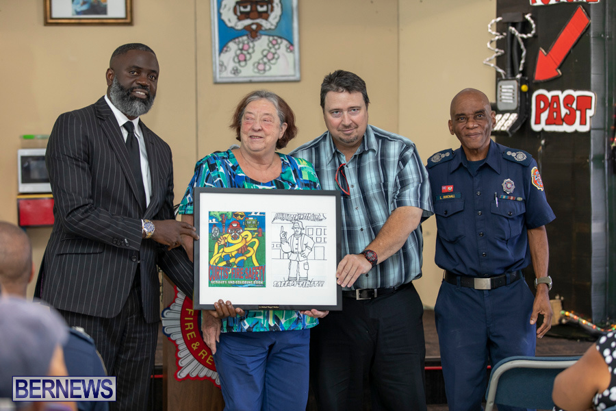 Bermuda Fire & Rescue Service Launch Fire Safety Colouring Book, September 27 2019-1392