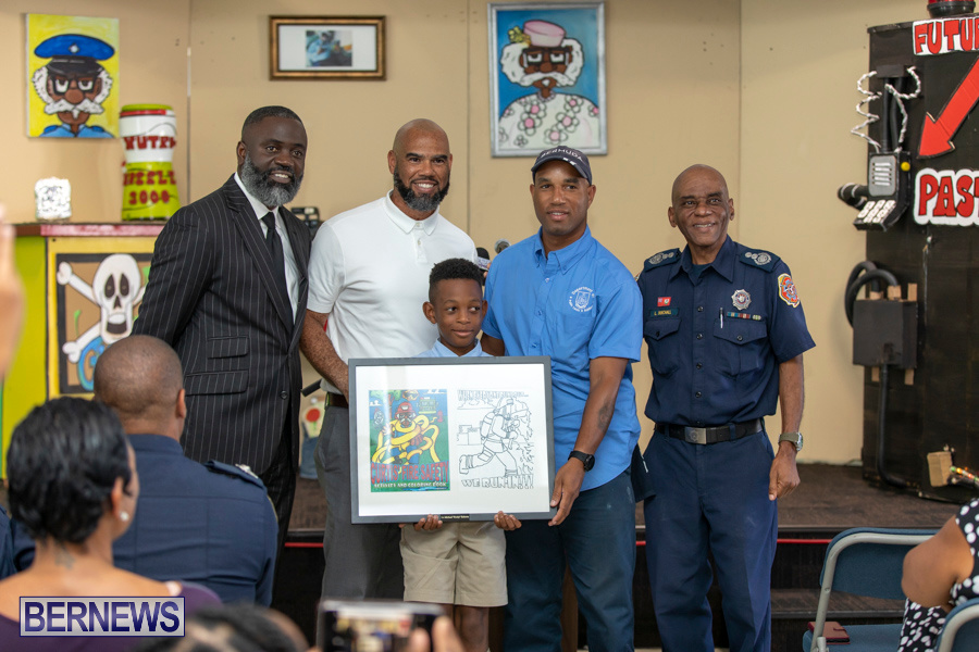 Bermuda Fire & Rescue Service Launch Fire Safety Colouring Book, September 27 2019-1396