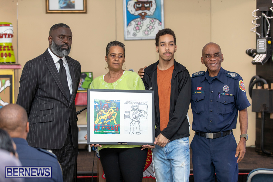 Bermuda Fire & Rescue Service Launch Fire Safety Colouring Book, September 27 2019-1402