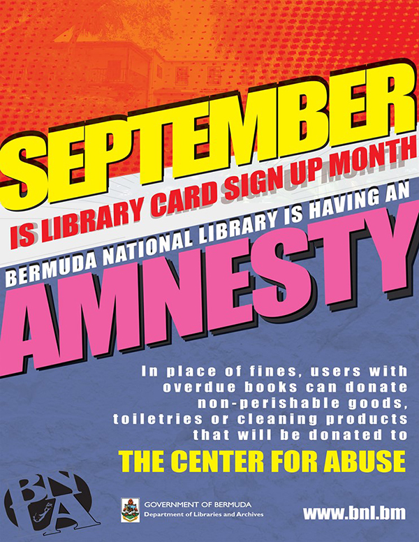 Bermuda National Library Sept 2019