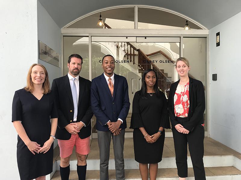 Carey Olsen Bursary Bermuda Sept 2019