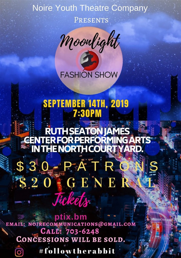 CedarBridge Moonlight Fashion Show Bermuda Sept 2019