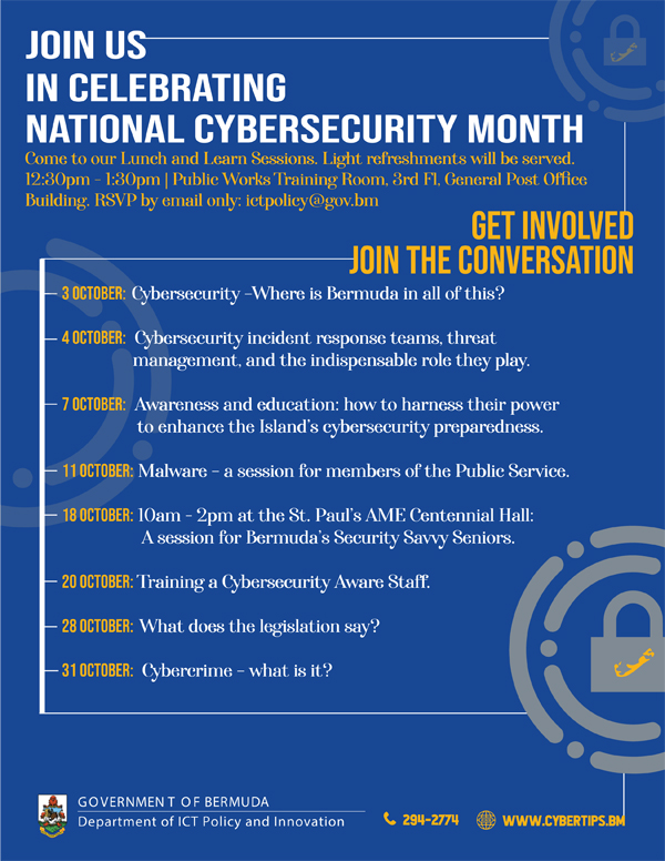 Cybersecurity Awareness Month V6