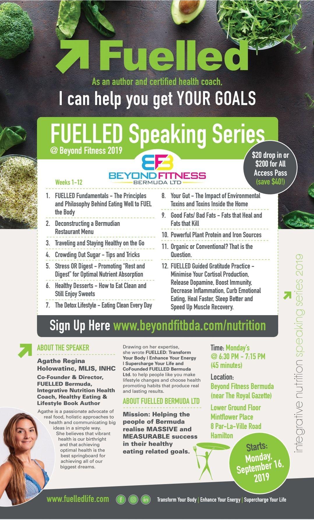 Fuelled-Speaking-Series-Beyond Fitness Bermuda Sept 8 2019