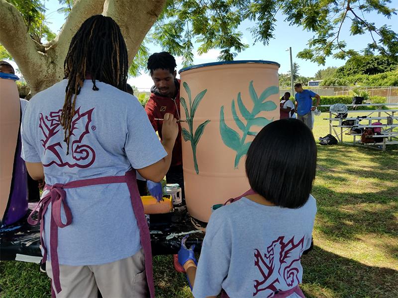 KBB Artful Bins with Butterfield IMA Bermuda Sept 17 2019 (4)