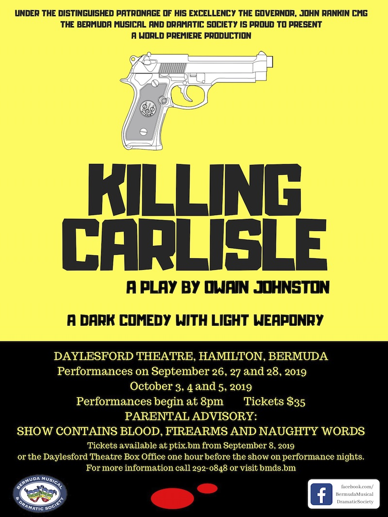 Premiere Of Killing Carlisle By Owain Johnston - Bernews