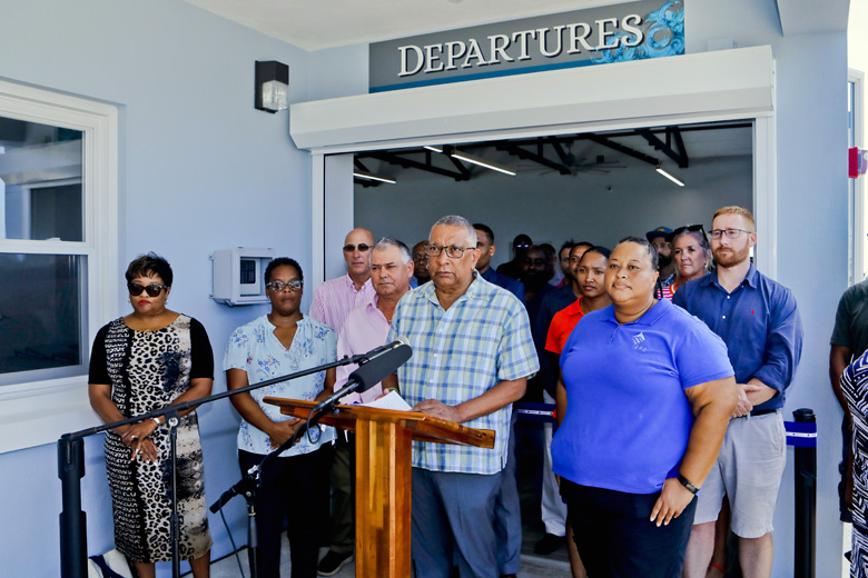 Kings Wharf new Customs Cruise Ship Terminal Bermuda Sept 2019 (1)