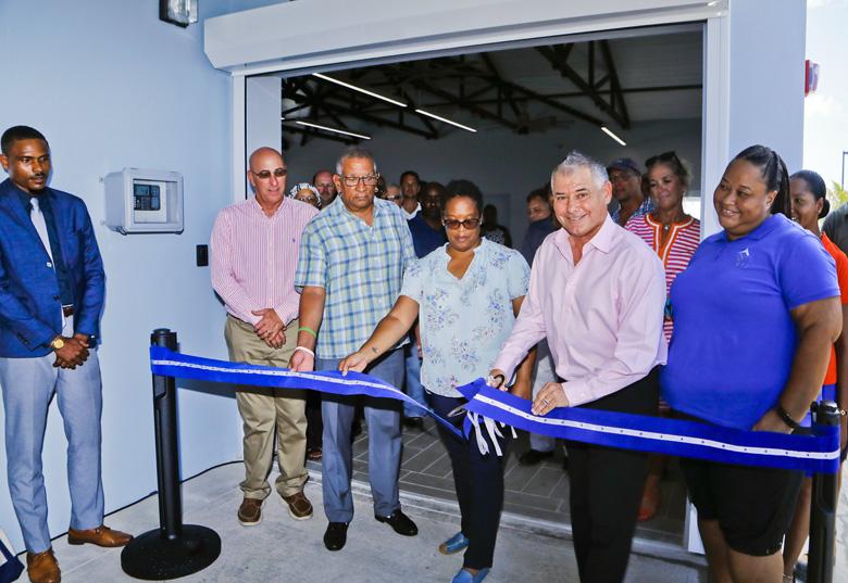 Kings Wharf new Customs Cruise Ship Terminal Bermuda Sept 2019 (2)