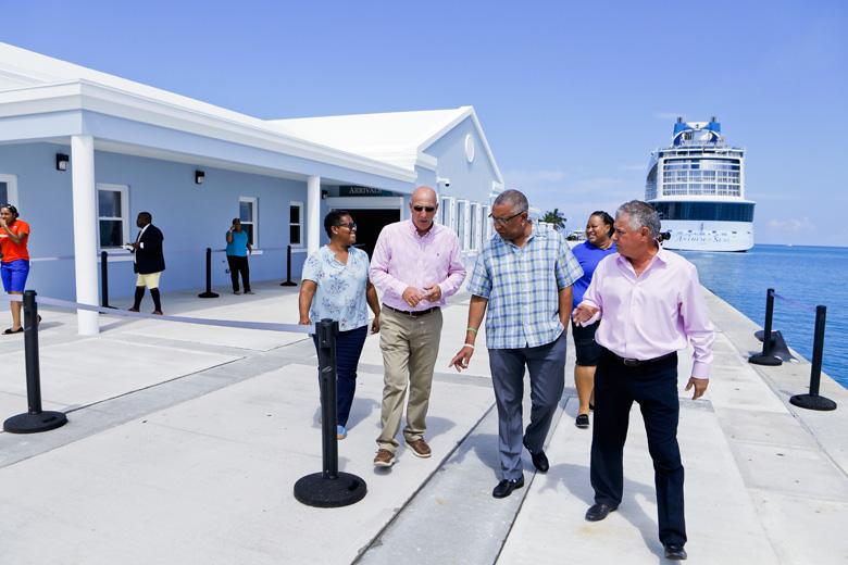 Kings Wharf new Customs Cruise Ship Terminal Bermuda Sept 2019 (4)