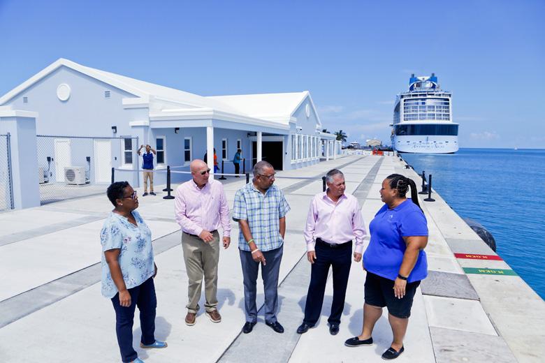 Kings Wharf new Customs Cruise Ship Terminal Bermuda Sept 2019 (5)