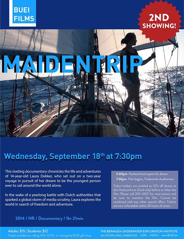 Maiden Trip Bermuda Sept 2019