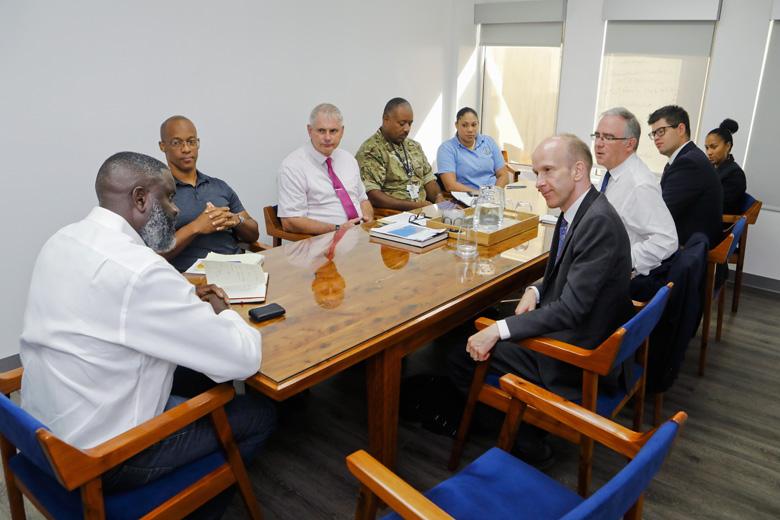 Minister Caines Governor UK OT Director Bermuda Sept 2019 (3)