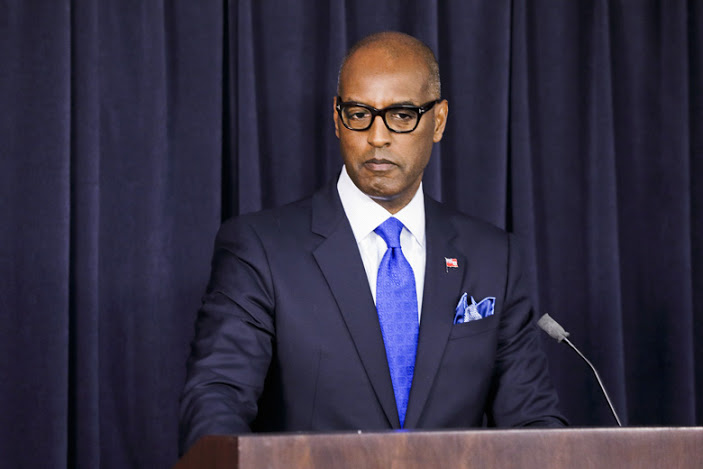 Minister of Finance Curtis Dickinson Bermuda Sept 13 2019