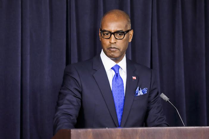 Minister of Finance Curtis Dickinson Bermuda Sept 13 2019