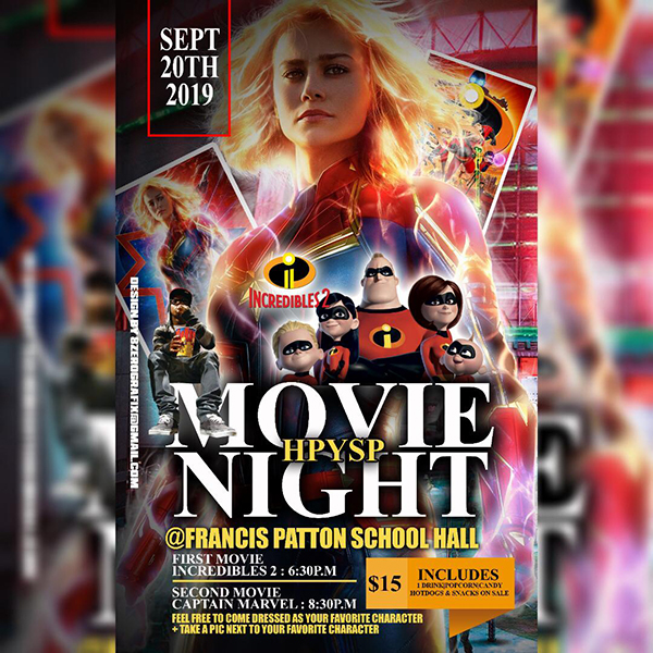 Movie Night Bermuda Sept 2019