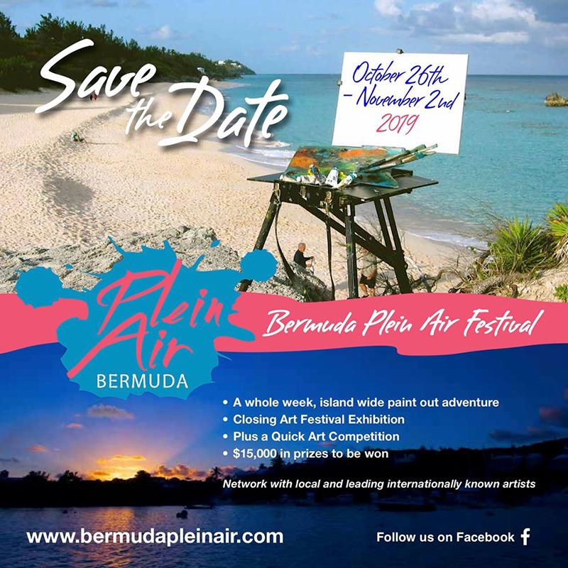 Plein Air Festival Bermuda Sept 2019