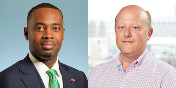 Premier David Burt & Jeremy Allaire Bermuda Sept 2019