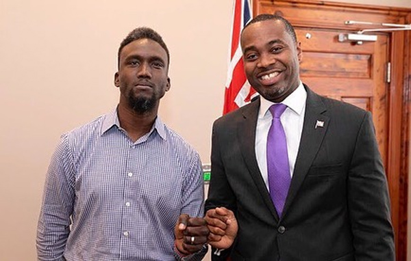 Premier Meets With Dr Theodore Francis Bermuda Sept 2019 (1)