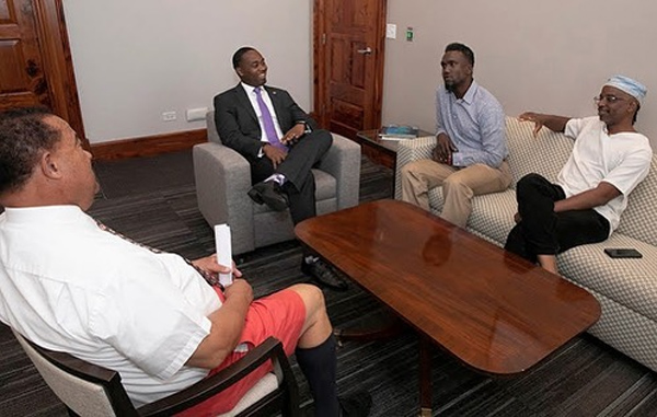 Premier Meets With Dr Theodore Francis Bermuda Sept 2019 (2)