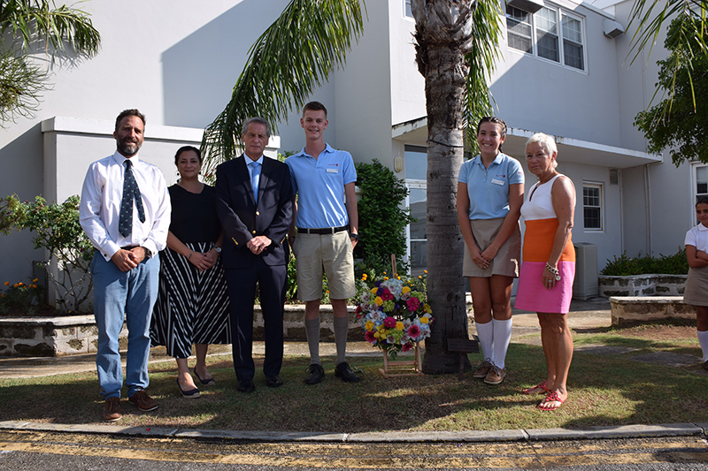 Saltus Pays Tribute To 911 Victims Bermuda Sept 2019 (2)