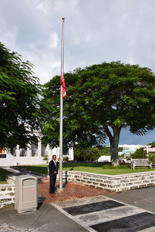 Saltus Pays Tribute To 911 Victims Bermuda Sept 2019 (5)