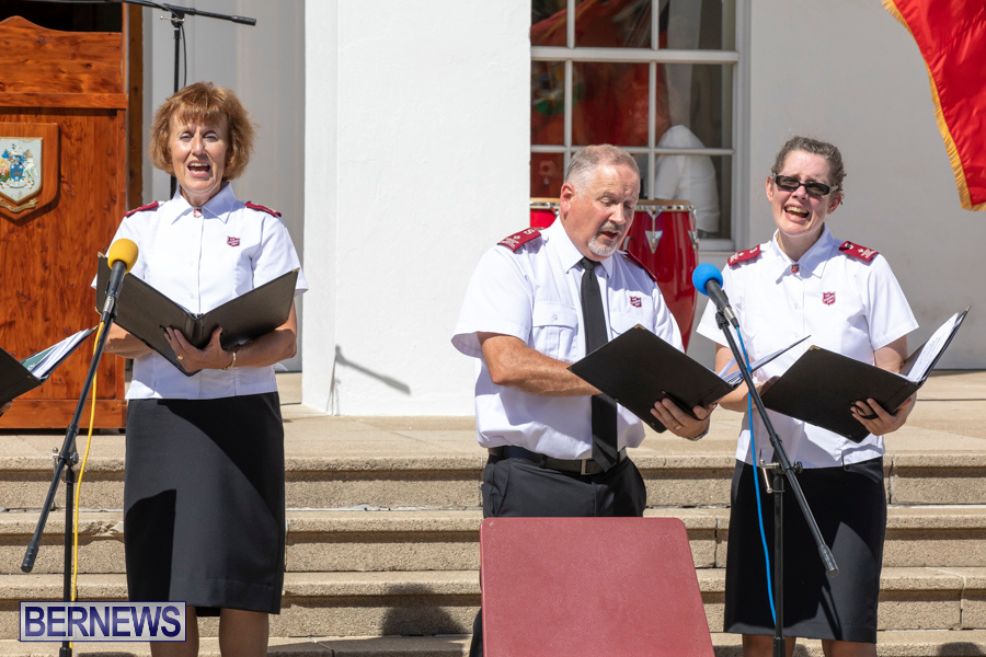 Salvation Army Congress Canadian Staff Songsters Concert Bermuda, September 27 2019-1478