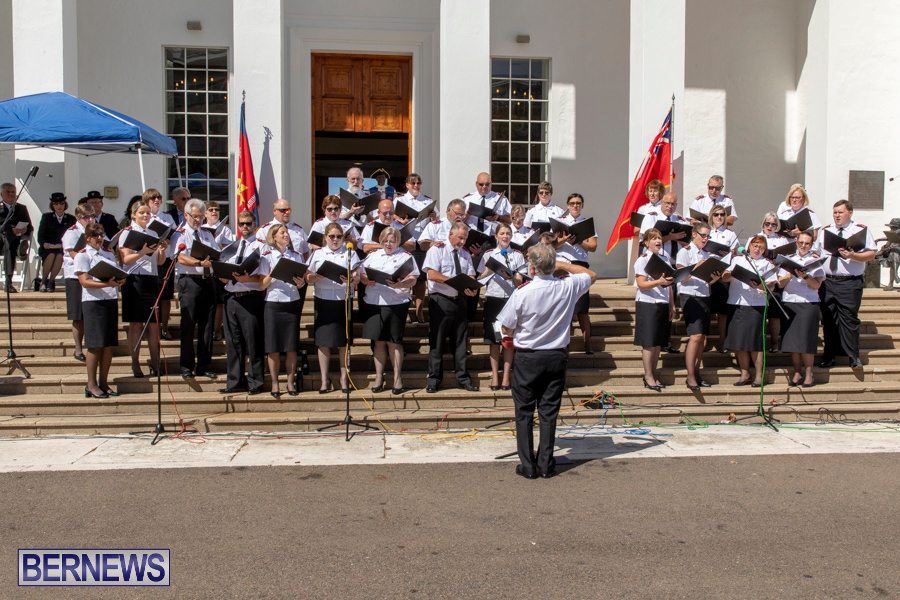 Salvation Army Congress Canadian Staff Songsters Concert Bermuda, September 27 2019-1516