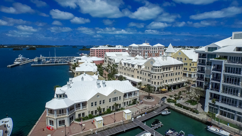 Waterfront Complex Bermuda Sept 2019