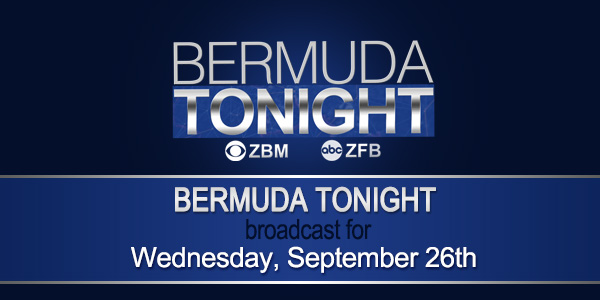 zbm 9 news Bermuda September 26 2018 tc