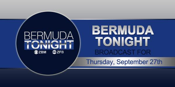 zbm 9 news Bermuda September 27 2018 tc