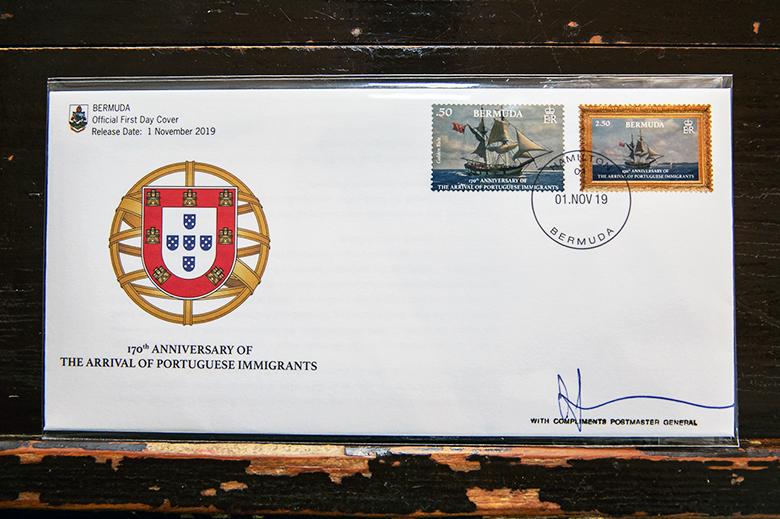 170th Portuguese Anniversary Commemorative Stamp Series Bermuda Oct 2019 (2)