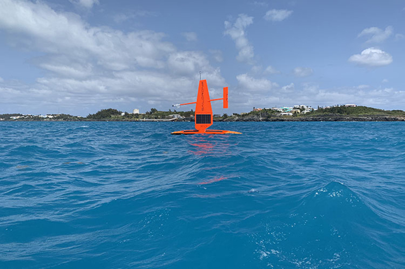 Autonomous Vehicle Crosses Atlantic Ocean Bermuda Oct 2019 (2)