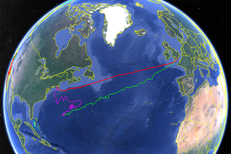 Autonomous Vehicle Crosses Atlantic Ocean Bermuda Oct 2019 (3)