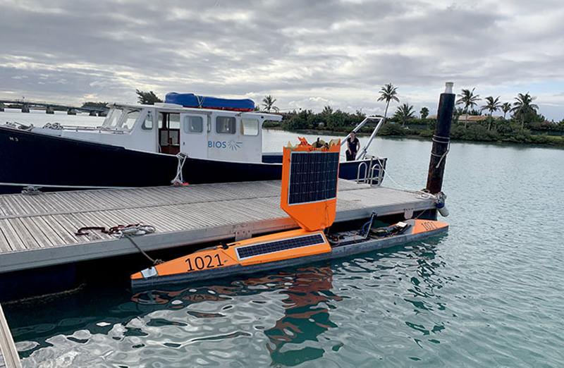 Autonomous Vehicle Crosses Atlantic Ocean Bermuda Oct 2019