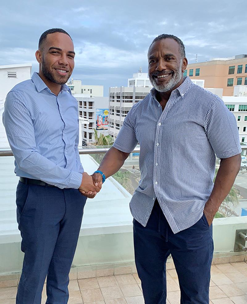 Donn Foggo & Ian Rawlins Bermuda Oct 2019